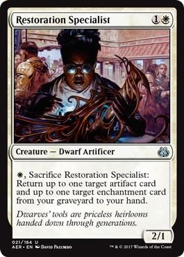 Solemn Recruit Ernste Rekrutin Aether Revolt Magic