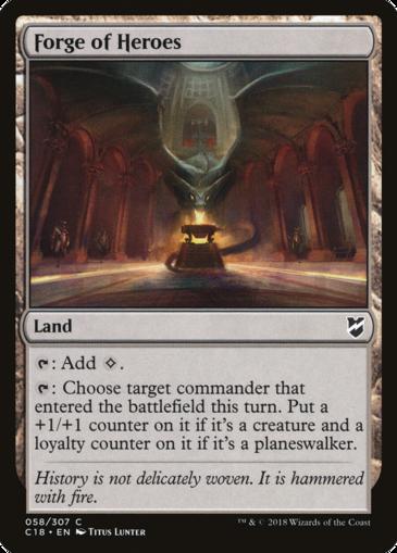 Commander 2018 Land Mtg Einzelkarten Spielraum I feel that it has potential but it's just not quite there! commander 2018 land mtg einzelkarten