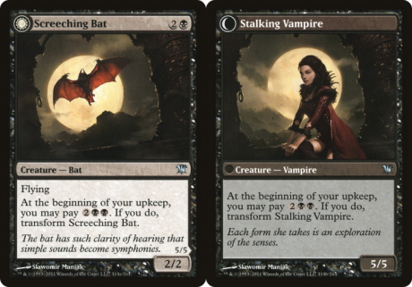 Screeching Bat // Stalking Vampire