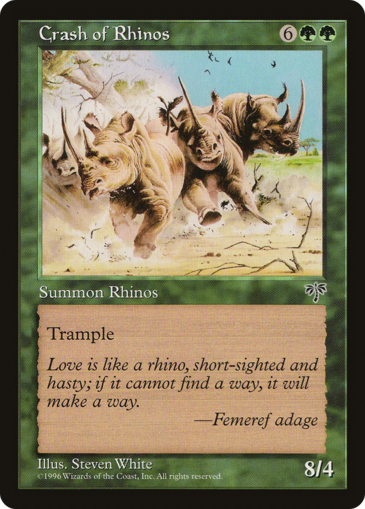 Crash of Rhinos