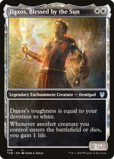 Daxos, Blessed by the Sun V2