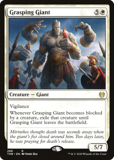 Grasping Giant