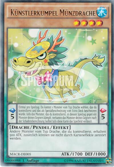Performapal Coin Dragon