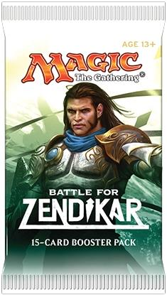 Battle for Zendikar Booster (engl.)