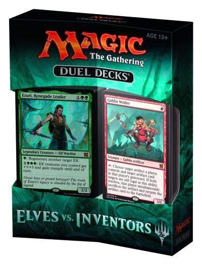 Duel Decks - Elves vs. Inventors (engl.)
