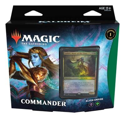 Kaldheim Commander Deck: Elven Empire (ENG)