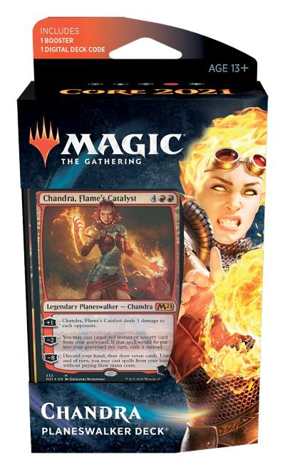 Core Set 2021 Planeswalker Deck (ENG) - Chandra