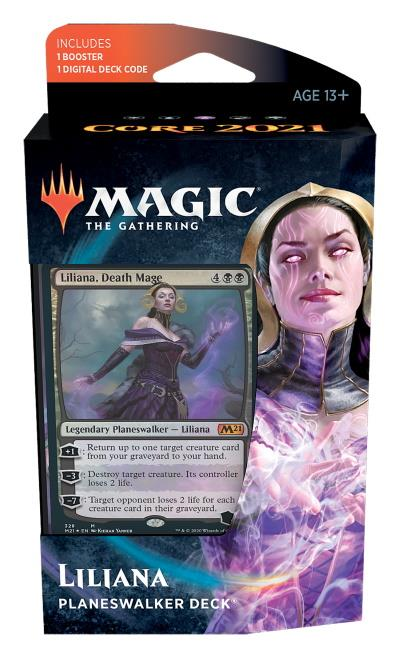 Core Set 2021 Planeswalker Deck (ENG) - Liliana