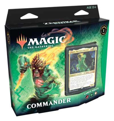 Zendikar Rising Commander Deck: Land's Wrath (ENG)