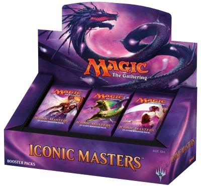 Iconic Masters Boosterdisplay (engl.)