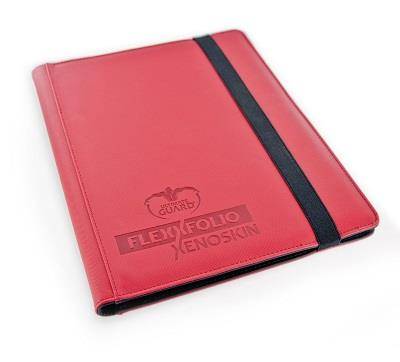 Ultimate Guard 9-Pocket FlexXfolio XenoSkin Red