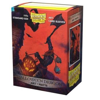 Dragon Shield Art Sleeves Matte Halloween Dragon (100)