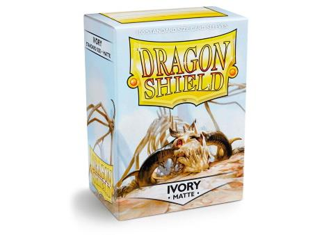 Dragon Shield Matte Sleeves Ivory (100)