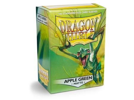 Dragon Shield Matte Sleeves Apple Green (100)