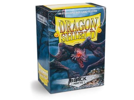 Dragon Shield Matte Sleeves Black (100)