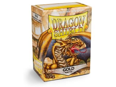 Dragon Shield Matte Sleeves Gold (100)