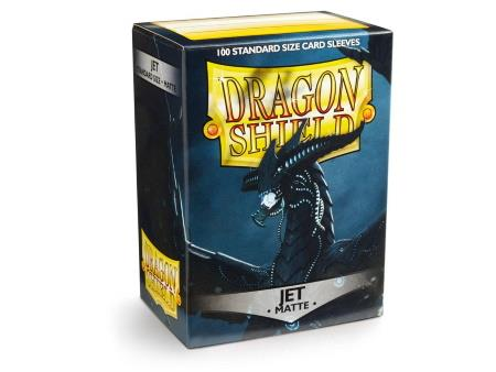 Dragon Shield Matte Sleeves Jet (100)