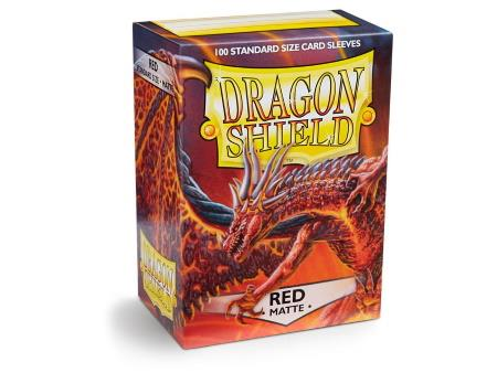Dragon Shield Matte Sleeves Red (100)