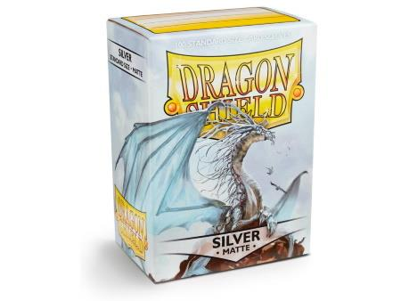 Dragon Shield Matte Sleeves Silver (100)