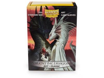 Dragon Shield Art Sleeves Valentine Dragons (100)