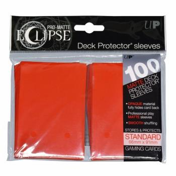 Ultra Pro Eclipse Sleeves Apple Red (100)