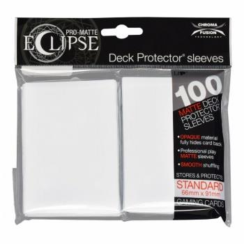Ultra Pro Eclipse Sleeves Arctic White (100)