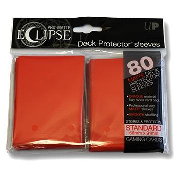 Ultra Pro Eclipse Sleeves Orange (80)