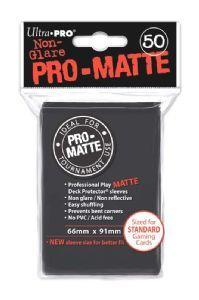 Ultra Pro Matte Sleeves Black (50)