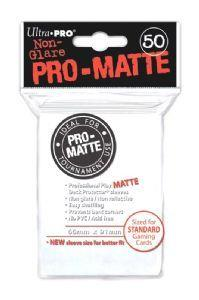 Ultra Pro Matte Sleeves White (50)