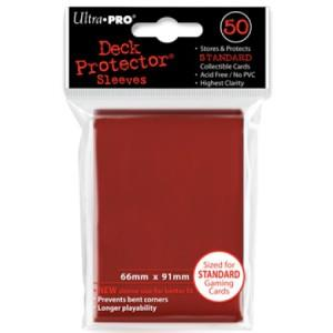 Ultra Pro Deck Protector Red (50)