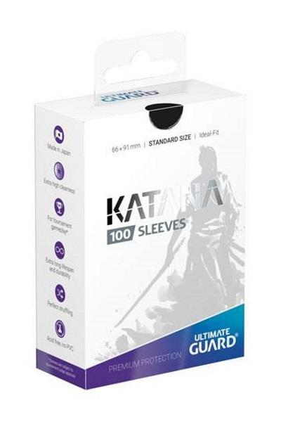Ultimate Guard Katana Sleeves Schwarz (100)