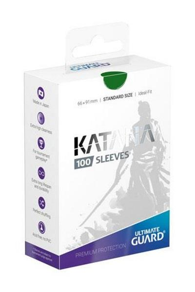 Ultimate Guard Katana Sleeves Grün (100)