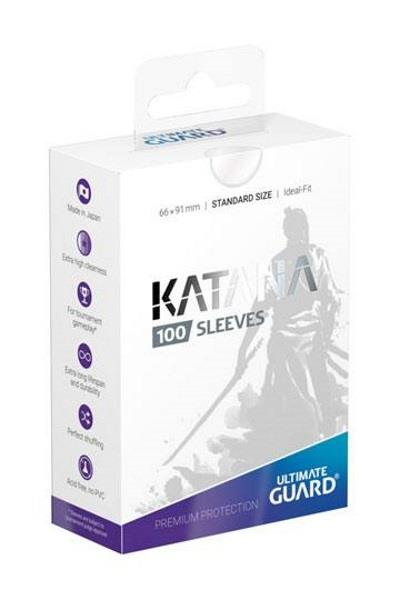 Ultimate Guard Katana Sleeves Transparent (100)