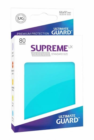 Ultimate Guard Supreme UX Sleeves Aqua (80)