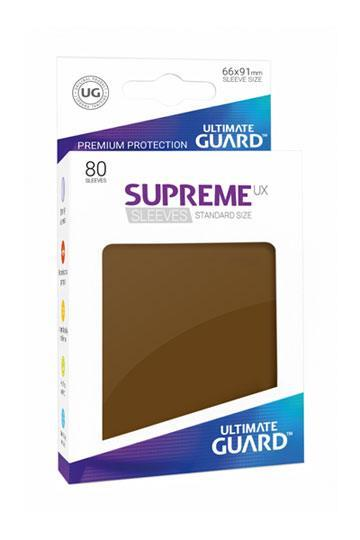 Ultimate Guard Supreme UX Sleeves Brown (80)
