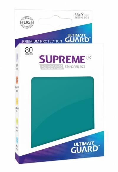 Ultimate Guard Supreme UX Sleeves Petrol (80)