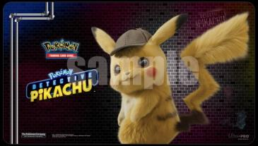 Pokemon Playmat Detective Pikachu