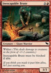 Inescapable Brute